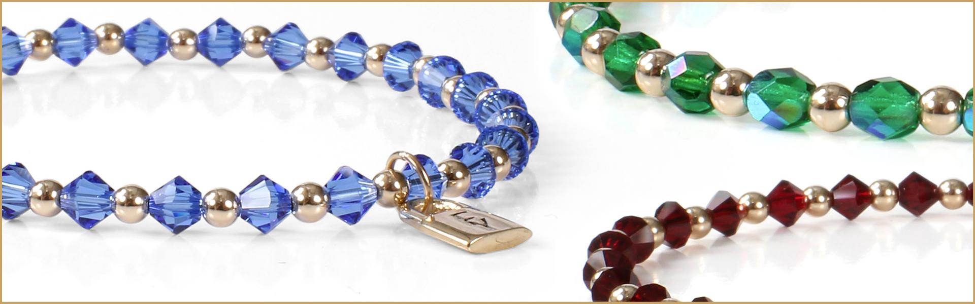 crystal bracelets for her