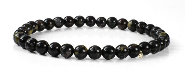 Flower Obsidian Gemstones Bracelet
