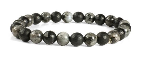 Blue Pearl and Black Onyx Bracelet