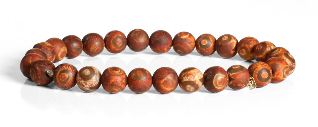 Tibetan (DZI) Agate Bracelet