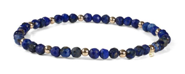 Lapis and 14kt Gold