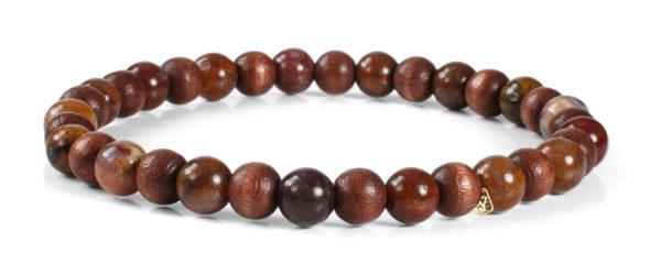 Euro Wood Beads Bracelet for him