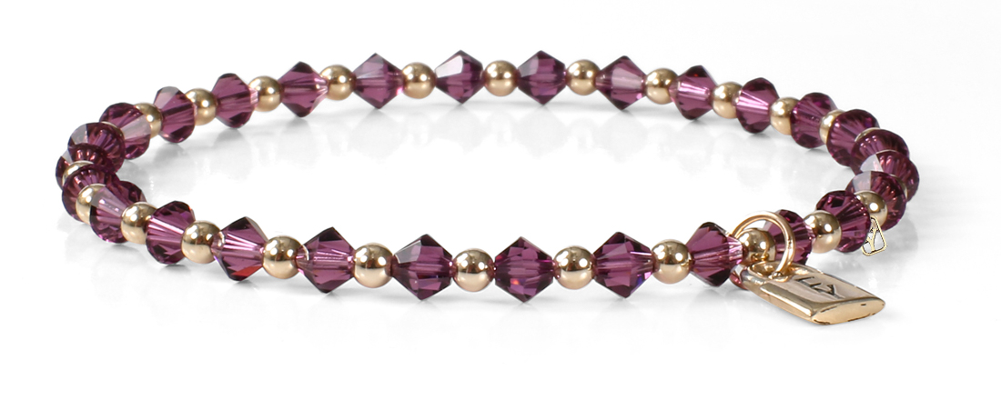 Signature FY Lock Collection with Amethyst Crystals